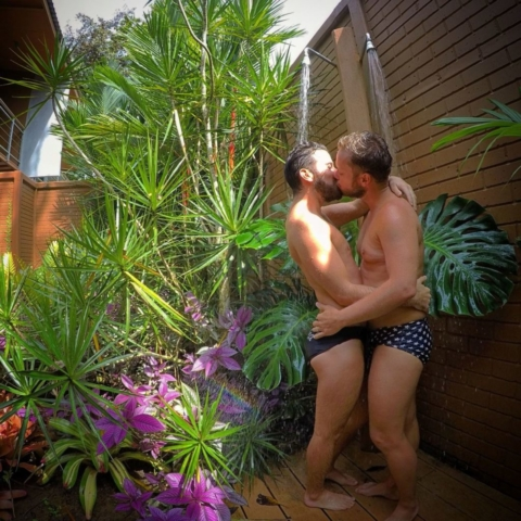 Gardens Shower - Gay Hotels Costa Rica